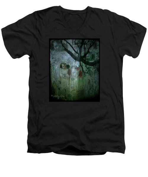 Haunting Men's V-Neck T-Shirt