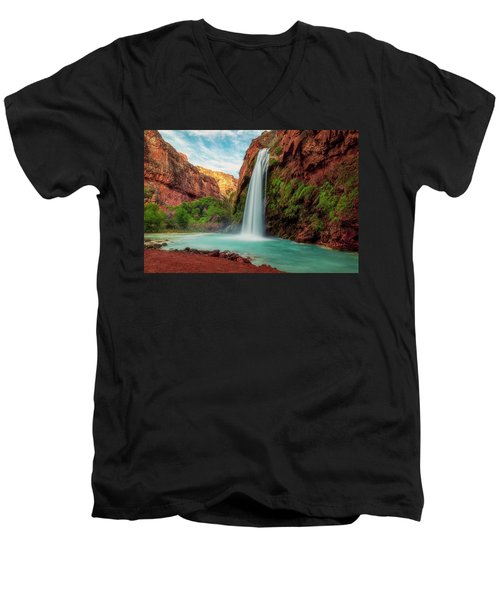 Havasupai Falls Men's V-Neck T-Shirt