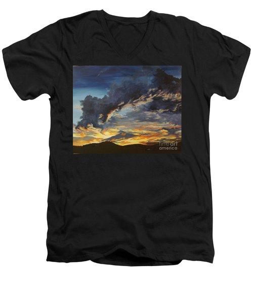 Hawcreek 7.11 Men's V-Neck T-Shirt by Stuart Engel