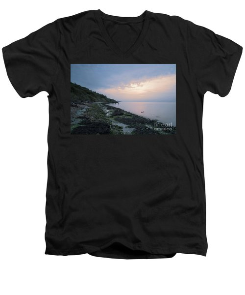 Hazy Sunset Men's V-Neck T-Shirt