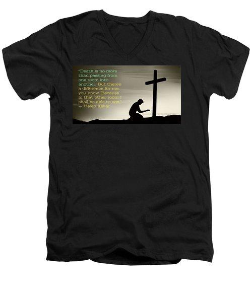 Healed Men's V-Neck T-Shirt