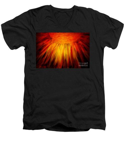 Healing Balm Of The Sun Men's V-Neck T-Shirt