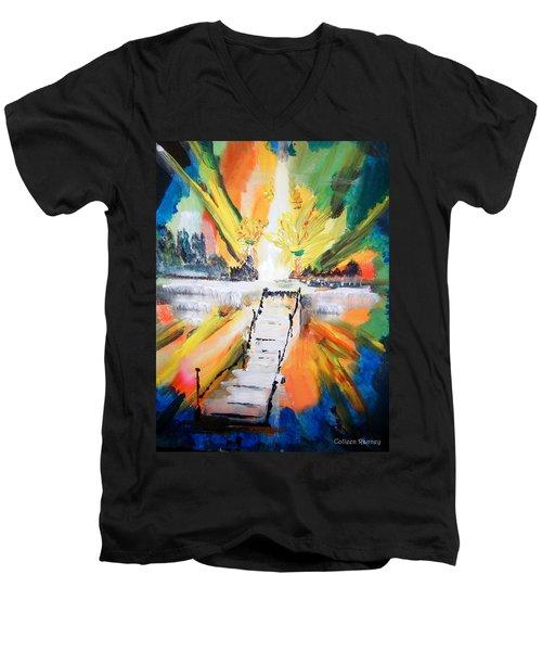 Healing Men's V-Neck T-Shirt