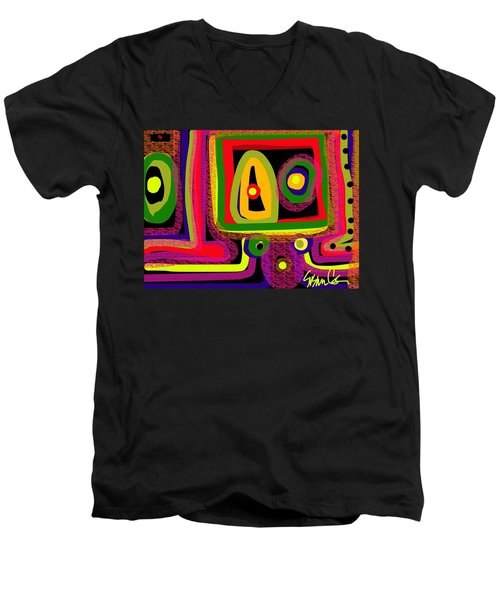 Healing Eyes Men's V-Neck T-Shirt