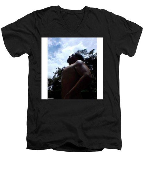 Heart, Soul And Men's V-Neck T-Shirt