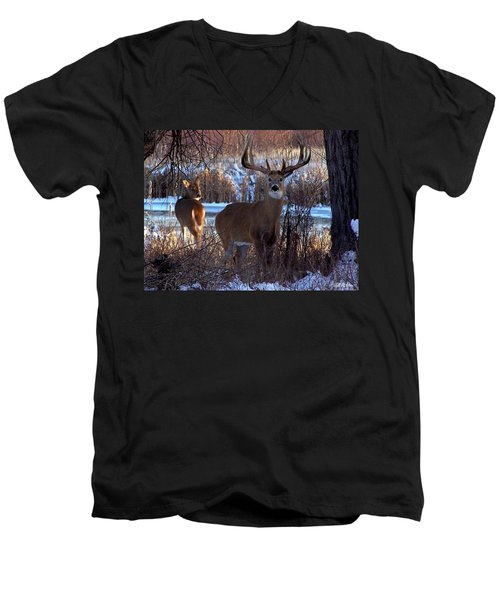 Heartbeat Of The Wild Men's V-Neck T-Shirt