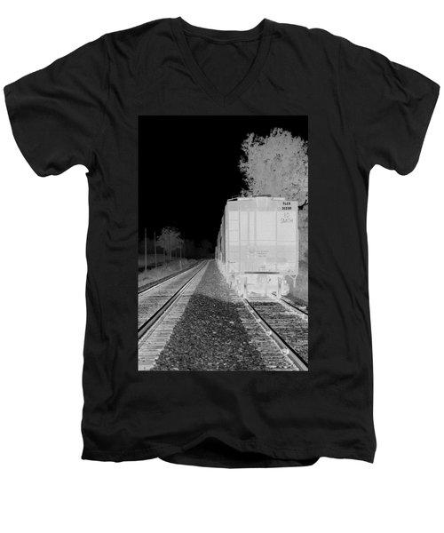 Heat Of The Night Men's V-Neck T-Shirt