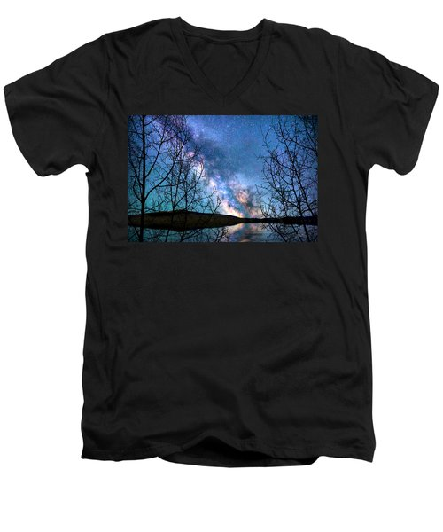 Heaven And Earth Men's V-Neck T-Shirt