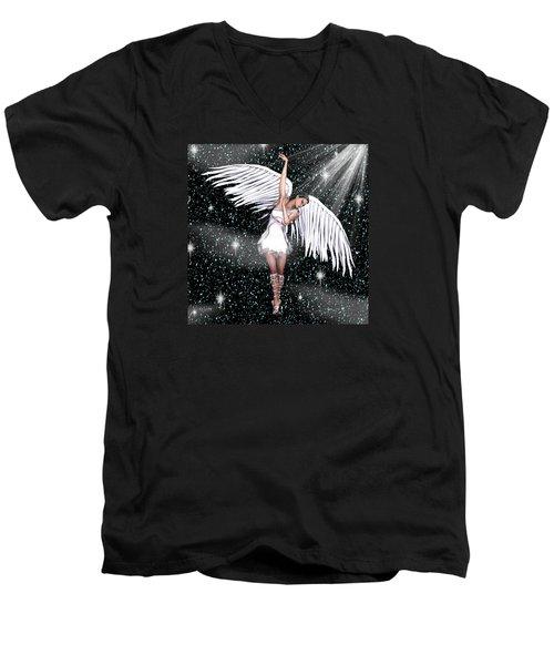 Heaven Bound Men's V-Neck T-Shirt