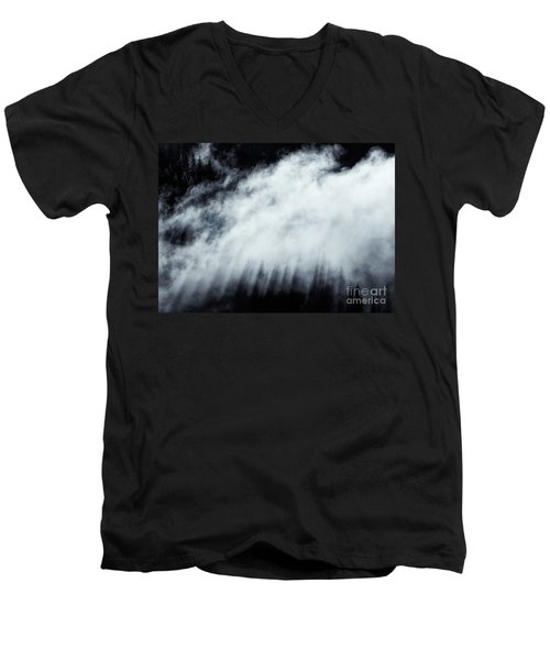 Men's V-Neck T-Shirt featuring the photograph Heavenly by Mike Dawson