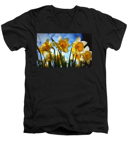 Hello Spring Men's V-Neck T-Shirt