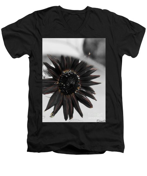 Hells Sunflower Men's V-Neck T-Shirt
