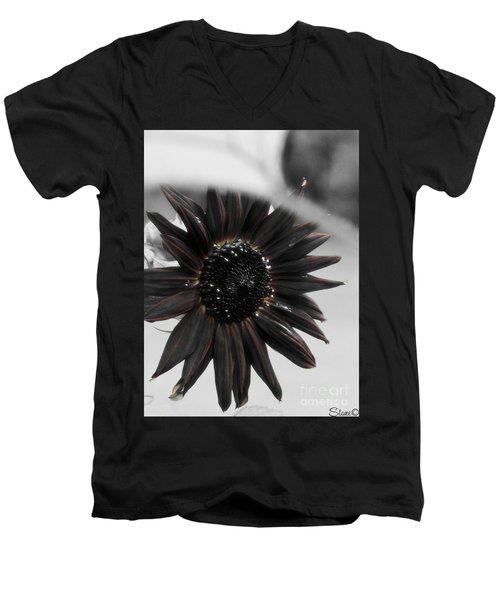 Hells Sunflower Men's V-Neck T-Shirt