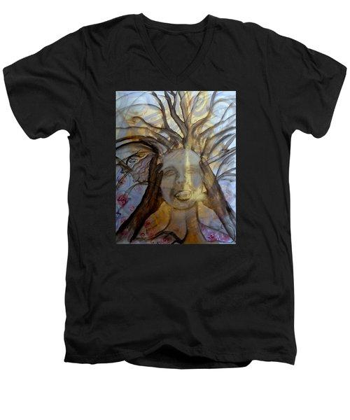 Helpless Men's V-Neck T-Shirt