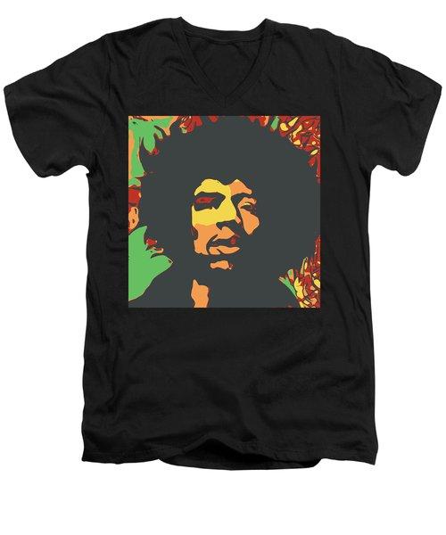 Hendrix Men's V-Neck T-Shirt