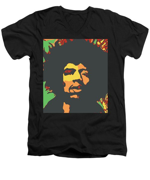 Hendrix Men's V-Neck T-Shirt