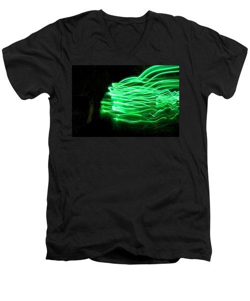 Her Spirit Lives In The Woods Men's V-Neck T-Shirt by Ellery Russell