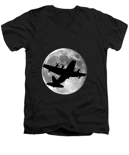 Hercules Moon .png Men's V-Neck T-Shirt