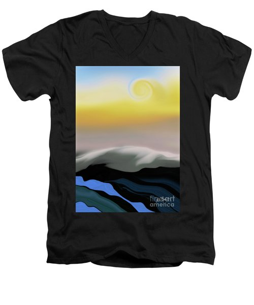 Here Comes The Sun Men's V-Neck T-Shirt