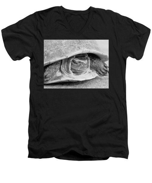 Hermes Men's V-Neck T-Shirt