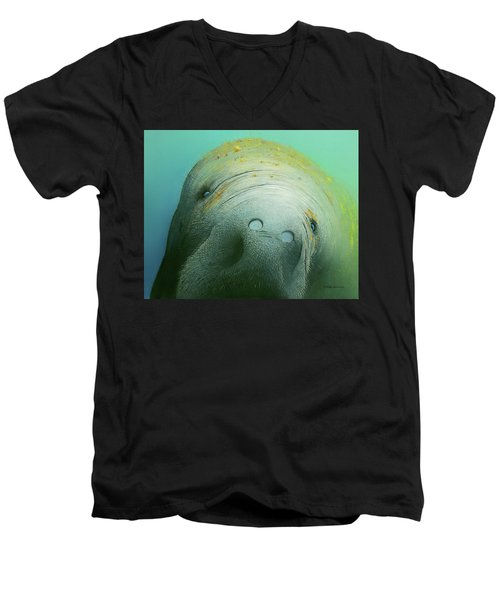 Hi There Men's V-Neck T-Shirt