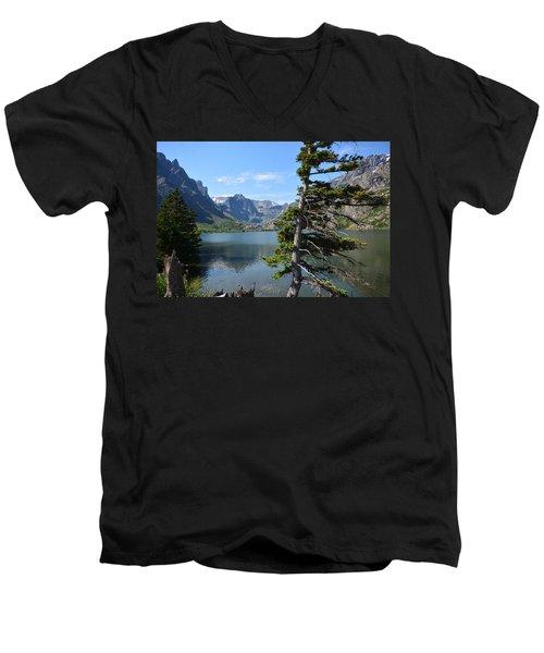 Hidden Beauty Men's V-Neck T-Shirt