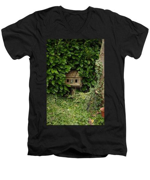 Hidden Birdhouse Men's V-Neck T-Shirt