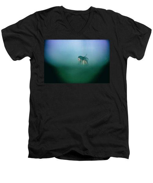 Hidden Men's V-Neck T-Shirt