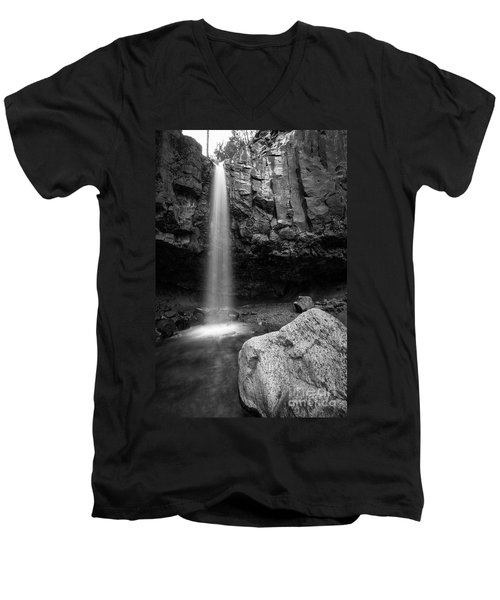 Hidden Waterfall Men's V-Neck T-Shirt