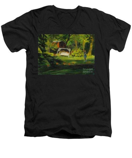 Hiedi's Swing Men's V-Neck T-Shirt