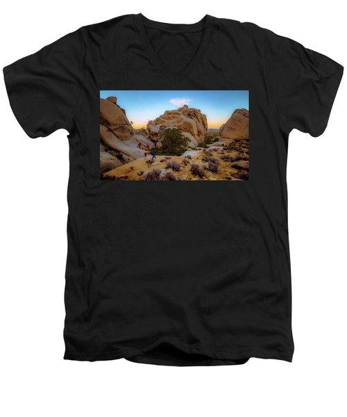 High Desert Pose Men's V-Neck T-Shirt