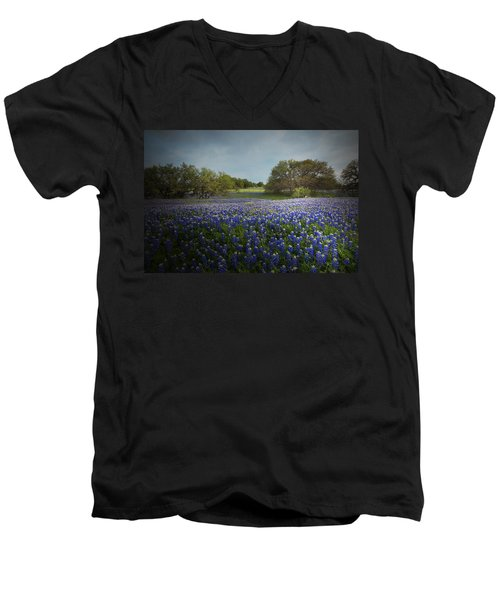Hill Country Ranch Men's V-Neck T-Shirt