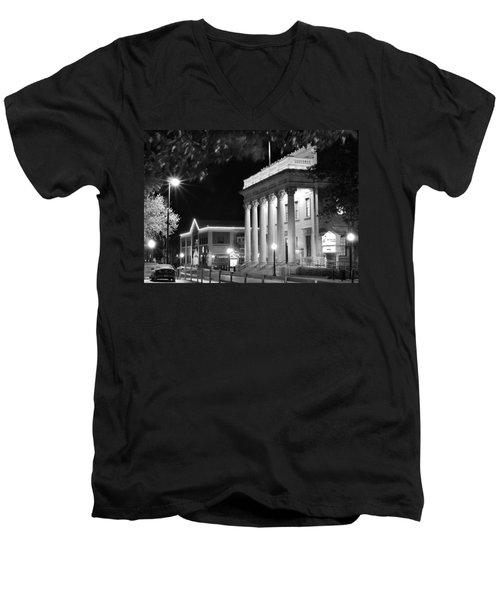 Hippodrome At Night  Men's V-Neck T-Shirt