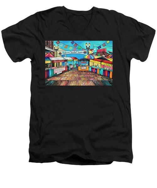 Historic Market Square Men's V-Neck T-Shirt