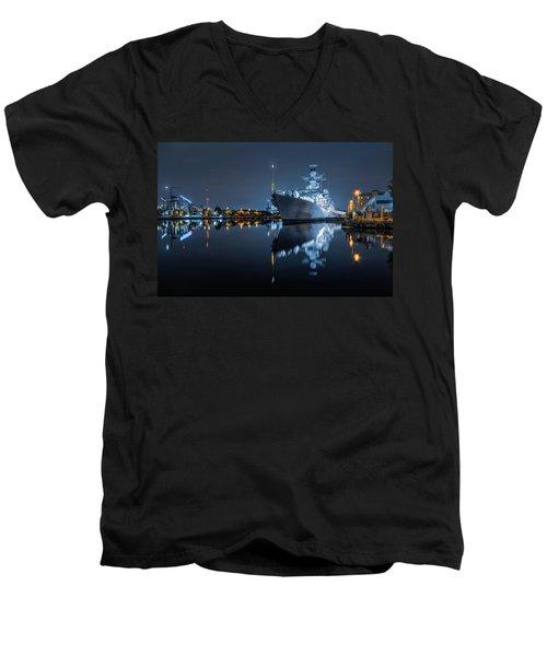 Hms Westminster Men's V-Neck T-Shirt