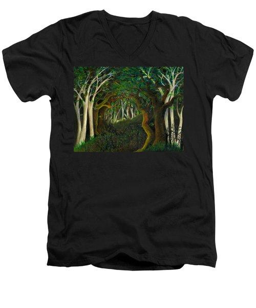 Hobbit Woods Men's V-Neck T-Shirt