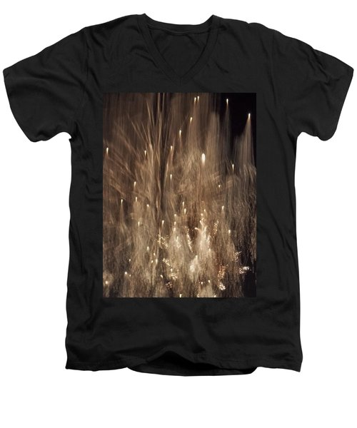Men's V-Neck T-Shirt featuring the photograph Hocus Pocus Out Of Focus by John Glass