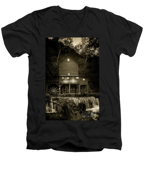 Hodgson Gristmill Men's V-Neck T-Shirt