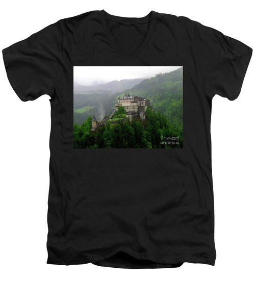 Hohenwerfen Castle Men's V-Neck T-Shirt