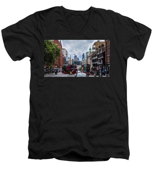 Holborn - London Men's V-Neck T-Shirt
