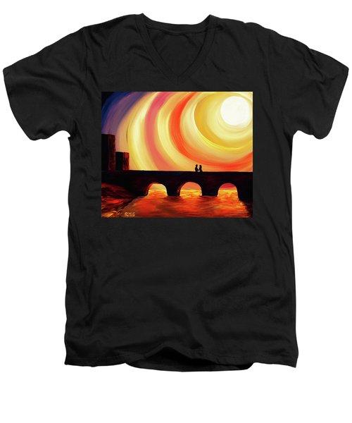 Hold Me Men's V-Neck T-Shirt