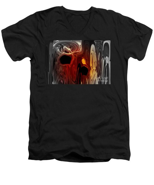 Holes In My Soul Men's V-Neck T-Shirt