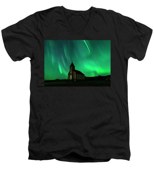 Holy Places Men's V-Neck T-Shirt