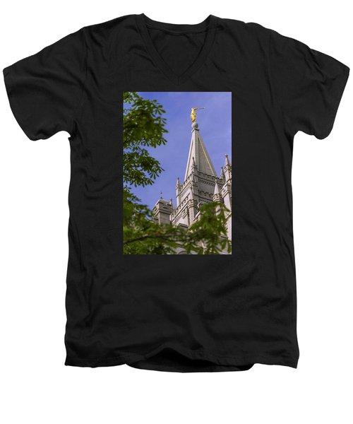 Holy Temple Men's V-Neck T-Shirt