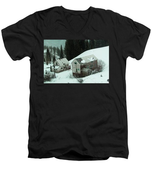 Homes In The Valley Men's V-Neck T-Shirt