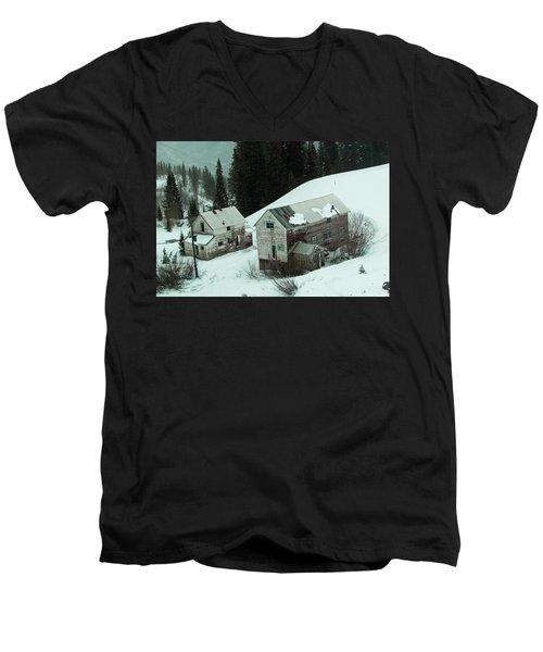 Homes In The Valley Men's V-Neck T-Shirt