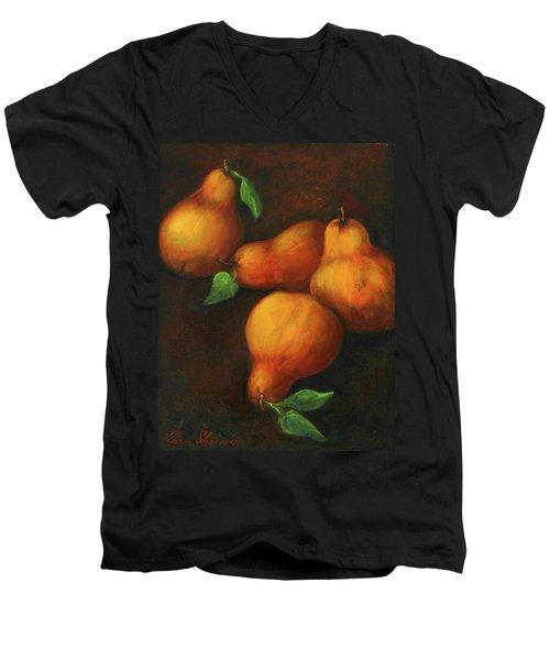 Honey Pears Men's V-Neck T-Shirt