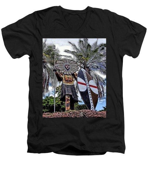 Honolulu Zoo Keeper Men's V-Neck T-Shirt