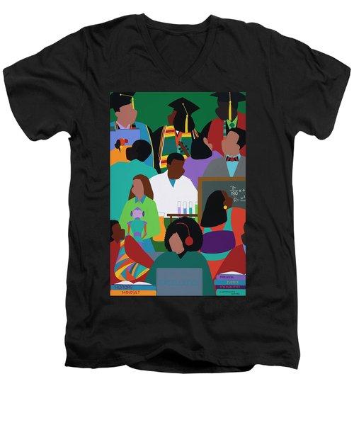Honors Mindset Men's V-Neck T-Shirt