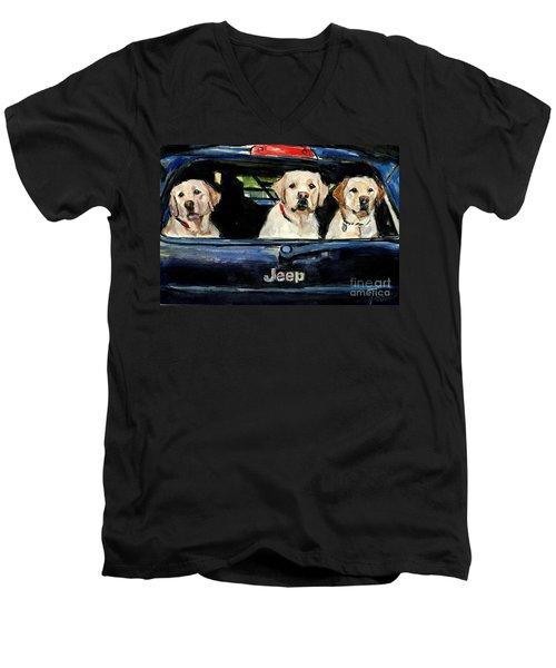 Hooligans Men's V-Neck T-Shirt